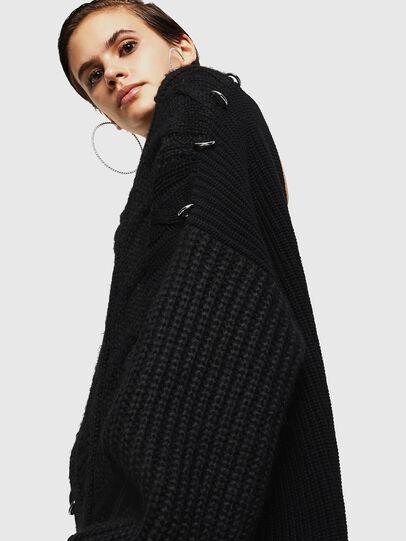 Diesel - MEBLY, Black - Knitwear - Image 5