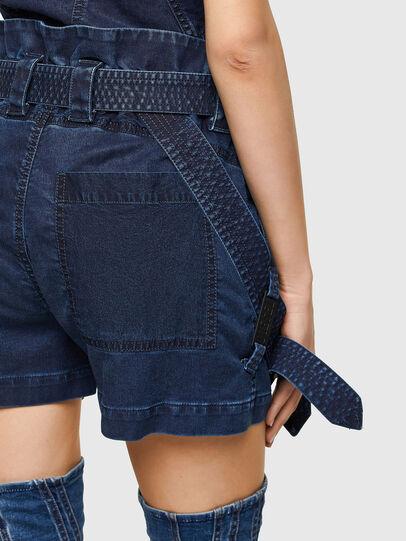 Diesel - D-FEDRA-SP JOGGJEANS, Dark Blue - Shorts - Image 3