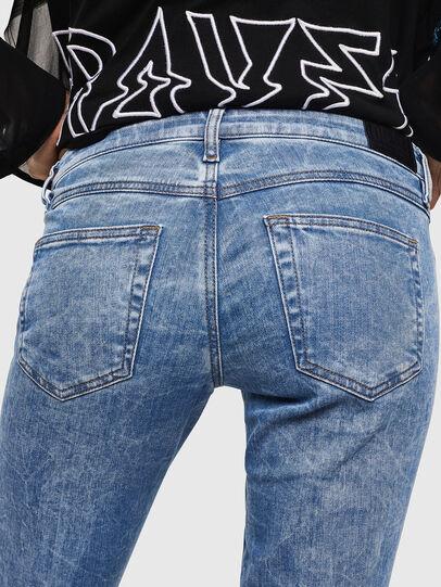 Diesel - Gracey JoggJeans 0870P, Light Blue - Jeans - Image 5