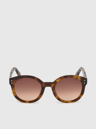 Diesel - DL0252, Brown - Sunglasses - Image 1