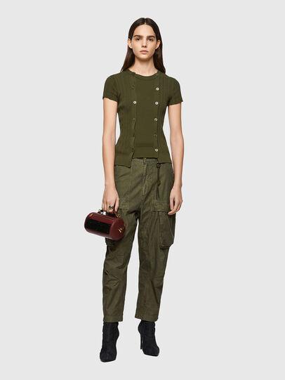 Diesel - M-FLORIDA, Olive Green - Knitwear - Image 5