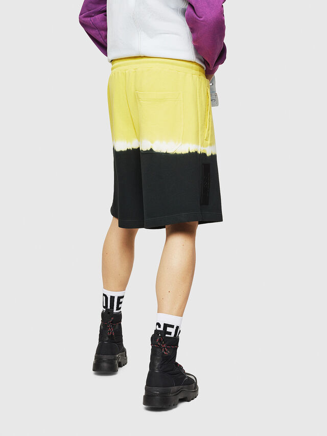 Diesel - P-TOX-DEEP, Black/Yellow - Shorts - Image 2