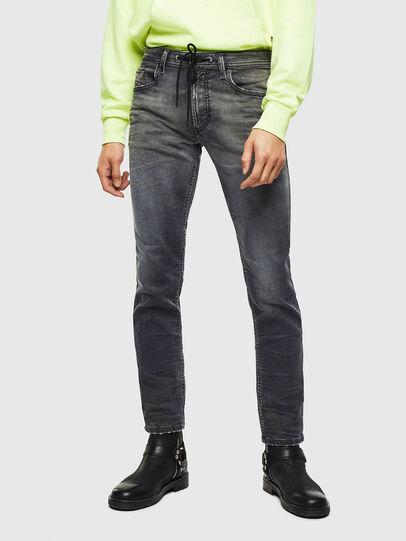 Diesel - Thommer JoggJeans 069KK, Black/Dark grey - Jeans - Image 1