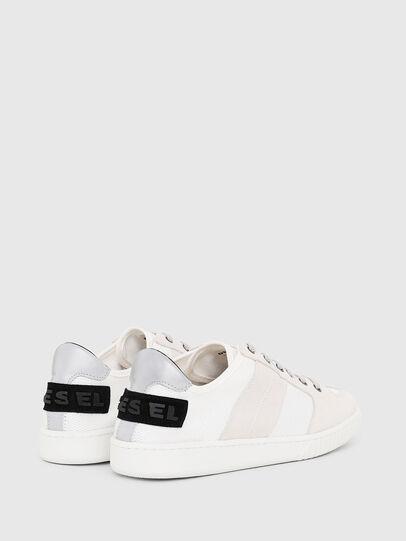 Diesel - S-MILLENIUM LC, White/Pink - Sneakers - Image 3