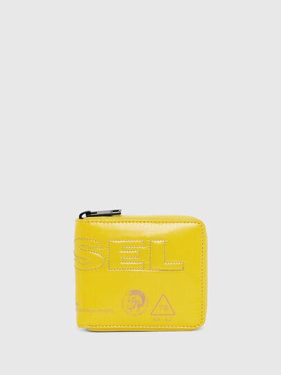 Diesel - ZIPPY HIRESH S, Yellow - Zip-Round Wallets - Image 2