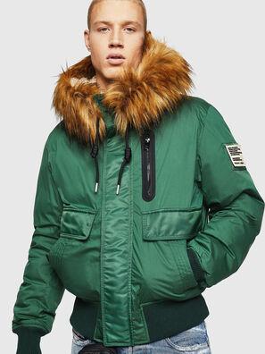 W-BURKISK, Green - Winter Jackets