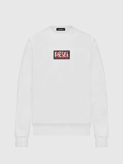Diesel - S-GIRK-X5, White - Sweaters - Image 1