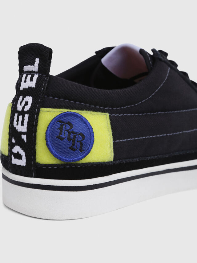 Diesel - D-VELOWS LOW PATCH, Black - Sneakers - Image 5