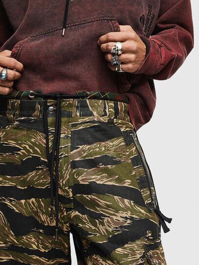 Diesel - P-LUZAVIC-TIGERCAM, Military Green - Pants - Image 4