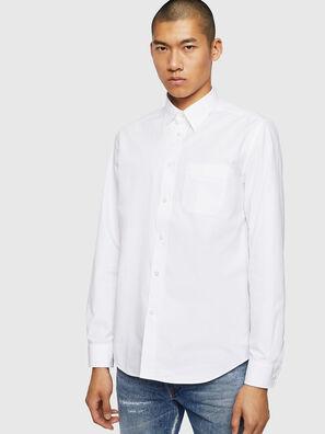 S-MOI-R-BW, White - Shirts