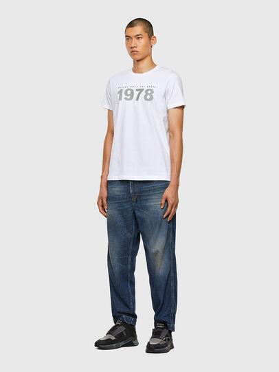 Diesel - T-DIEGOS-N33, White - T-Shirts - Image 4