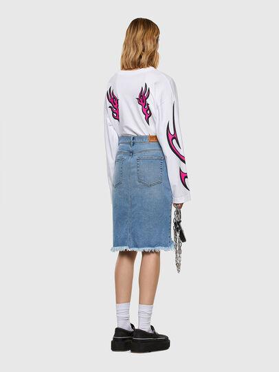Diesel - DE-ELLYOT, Light Blue - Skirts - Image 6