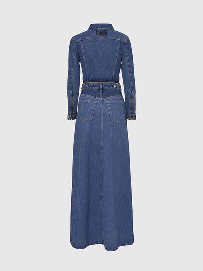 Diesel - DE-BLOCHY, Medium blue - Denim Jackets - Image 2