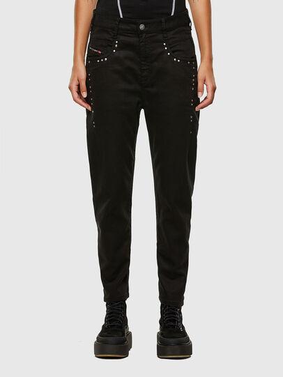 Diesel - FAYZA JoggJeans® 069NC, Black/Dark grey - Jeans - Image 1