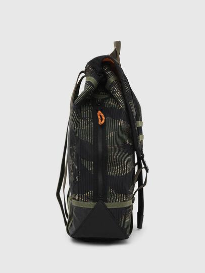 Diesel - VOLPAGO BACK, Green/Black - Backpacks - Image 3