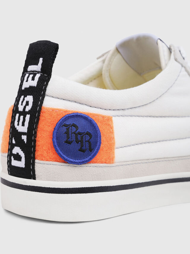 Diesel - D-VELOWS LOW PATCH, White - Sneakers - Image 5