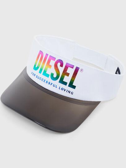 Diesel - VISOR-MAX-P, White - Caps - Image 3