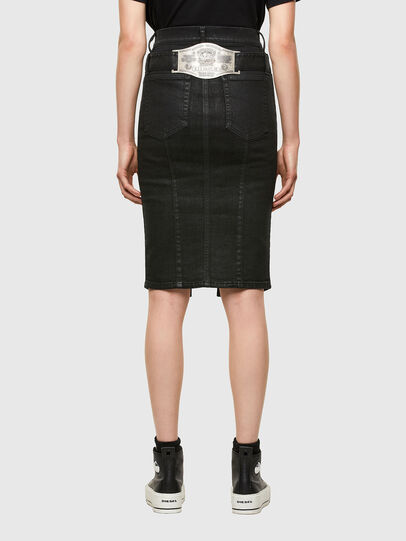 Diesel - DE-FEDY-SP, Black - Skirts - Image 2
