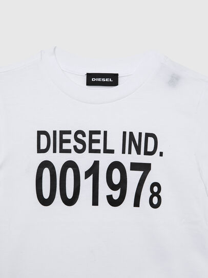Diesel - TDIEGO001978B-R, White/Black - T-shirts and Tops - Image 3