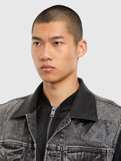 Diesel - D-DESTROY-SP, Grey/Black - Winter Jackets - Image 3