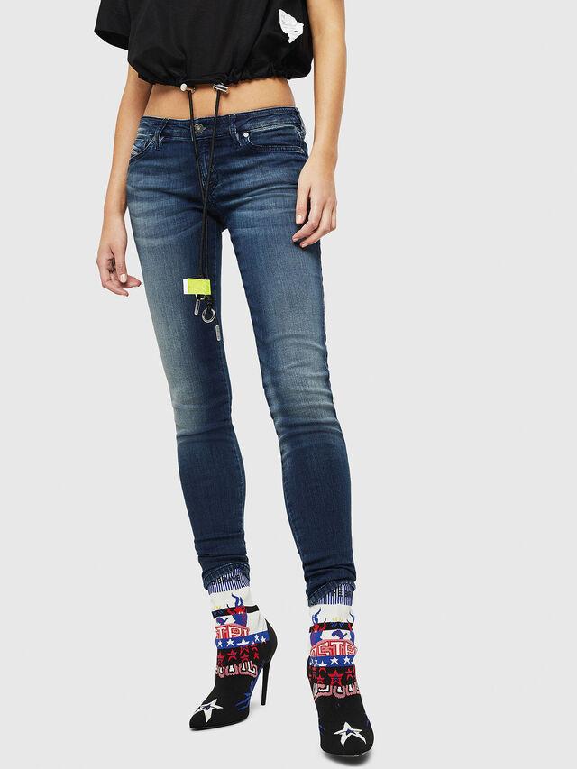 Diesel - Gracey JoggJeans 069HF, Dark Blue - Jeans - Image 1