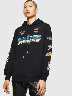 ASTARS-S-GIR-HOOD, Black - Sweaters