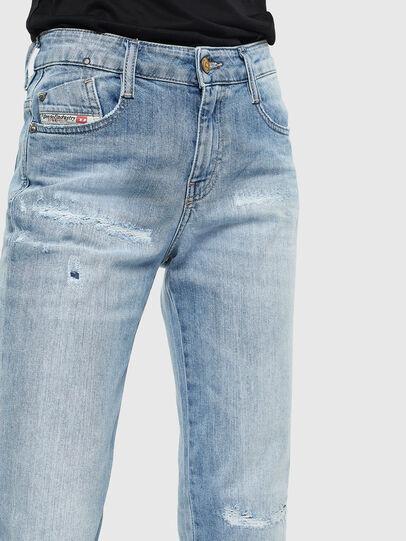 Diesel - D-Rifty 0095V, Light Blue - Jeans - Image 5