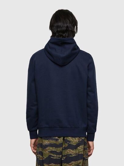 Diesel - S-GIRK-HOOD-K10, Dark Blue - Sweaters - Image 2