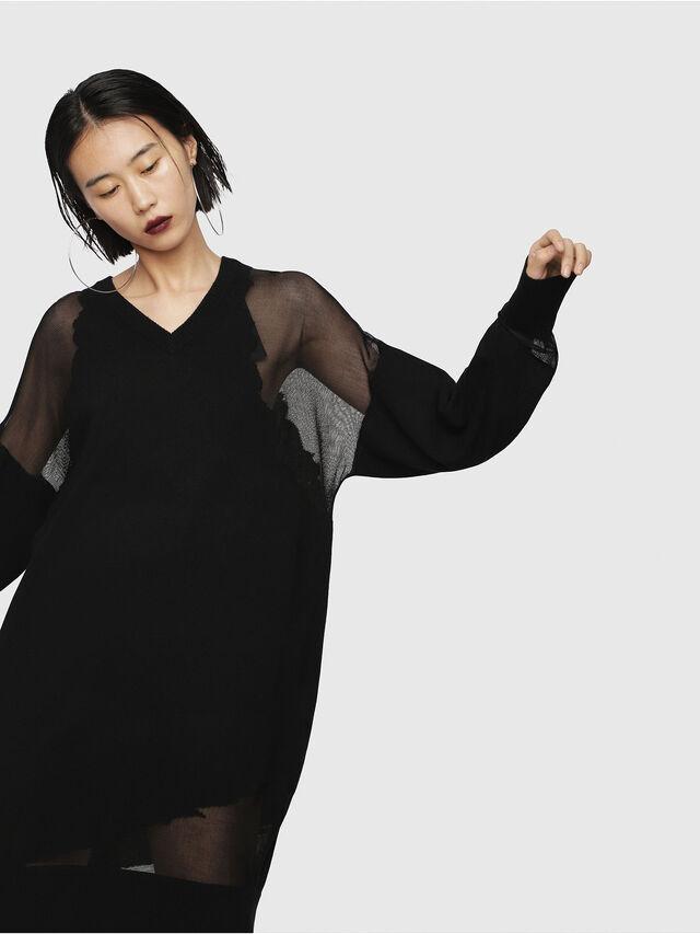 Diesel - M-LILY, Black - Dresses - Image 1
