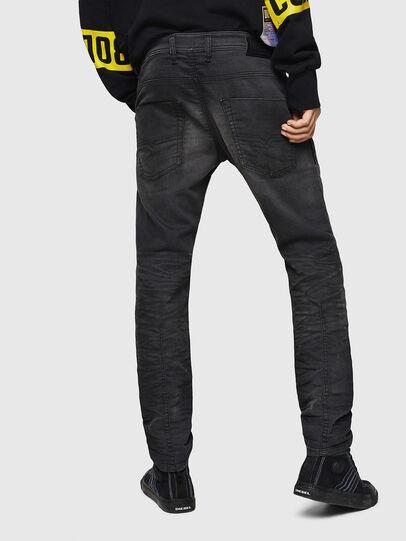 Diesel - Krooley JoggJeans 069GN, Black/Dark grey - Jeans - Image 2