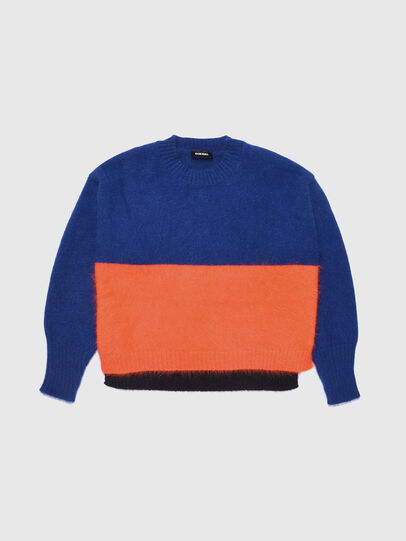 Diesel - KAIRY, Blue/Orange - Knitwear - Image 1