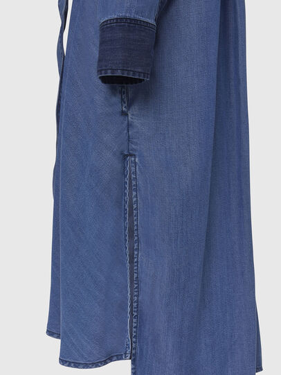 Diesel - DE-NIAVY, Light Blue - Dresses - Image 5