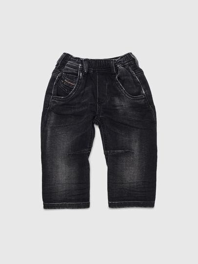 Diesel - FAYZA JOGGJEANS B-N, Black/Dark grey - Jeans - Image 1