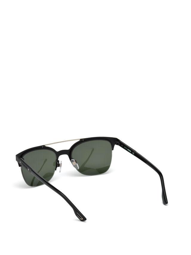 Diesel - DL0215, Black - Eyewear - Image 2