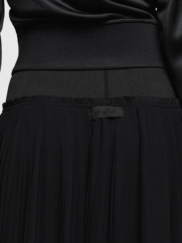 Diesel - O-TERUPE, Black - Skirts - Image 5