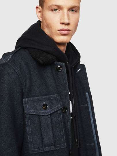 Diesel - W-TIMOTEV, Black - Winter Jackets - Image 3