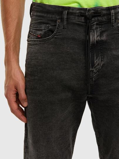 Diesel - D-VIDER JoggJeans® 009FZ, Black/Dark grey - Jeans - Image 3
