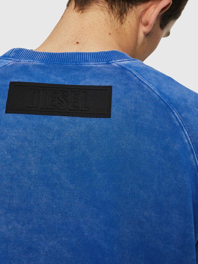 Diesel - S-RODD, Light Blue - Sweaters - Image 3