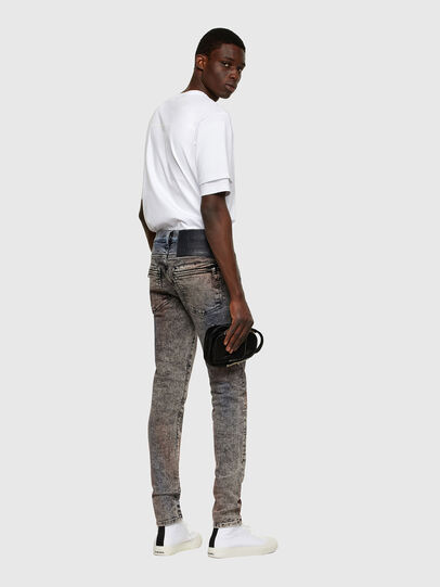 Diesel - D-Amny 009VG, Black/Dark grey - Jeans - Image 5