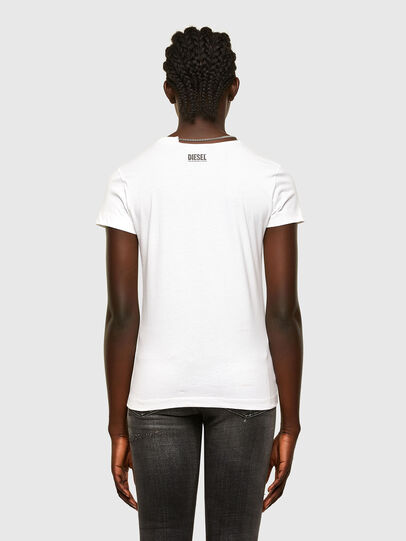 Diesel - T-CHAIN, White - T-Shirts - Image 2