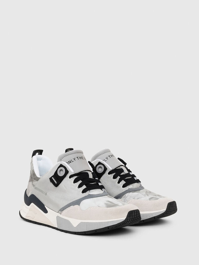 Diesel - S-BRENTHA LC, Light Grey - Sneakers - Image 2