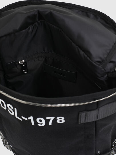 Diesel - PIEVE ZP, Black - Backpacks - Image 4