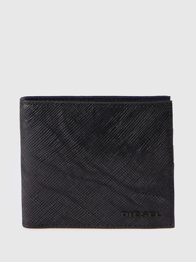Diesel - HIRESH S, Black - Small Wallets - Image 1