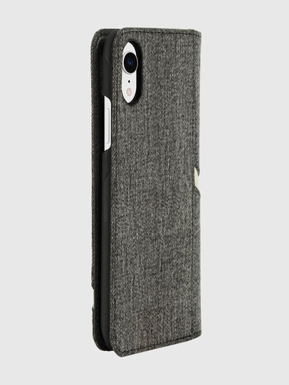 Diesel - DIESEL 2-IN-1 FOLIO CASE FOR IPHONE XR, Grey - Flip covers - Image 4