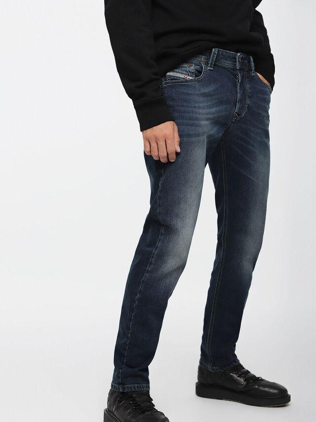 Diesel Larkee-Beex 084BU, Dark Blue - Jeans - Image 1