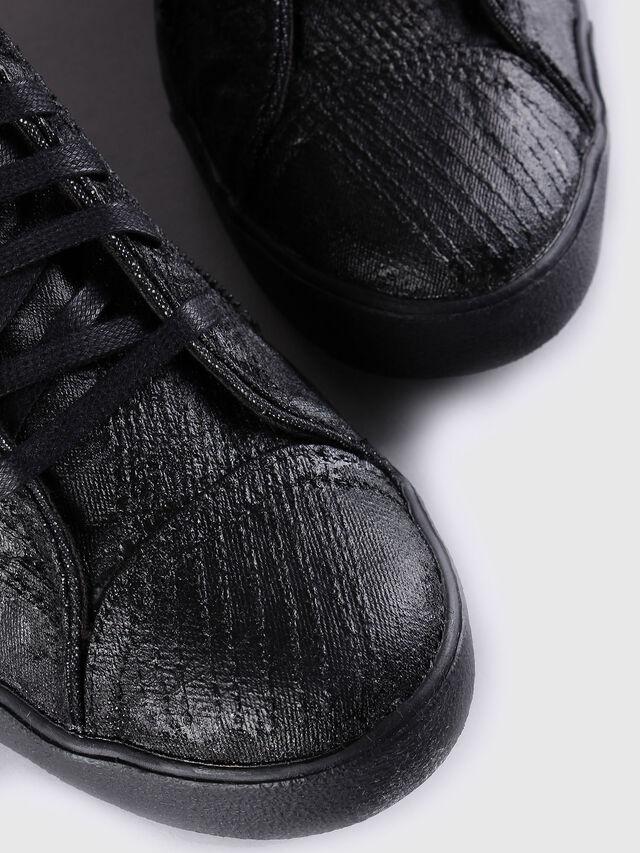 Diesel - D-STRING PLUS, Black Leather - Sneakers - Image 4