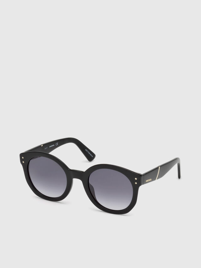 Diesel - DL0252, Black - Sunglasses - Image 4