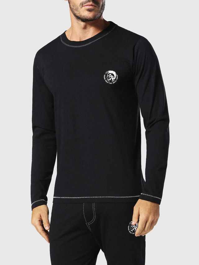 Diesel UMLT-JUSTIN, Black - T-Shirts - Image 1