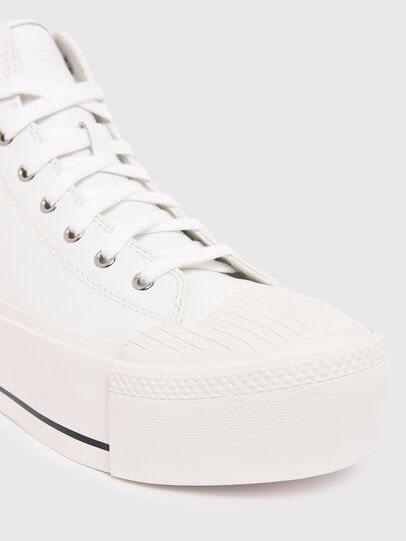 Diesel - S-ASTICO MC WEDGE, White - Sneakers - Image 4