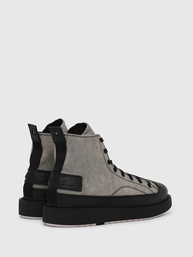Diesel - H-CAGE DBB, Gray/Black - Boots - Image 3